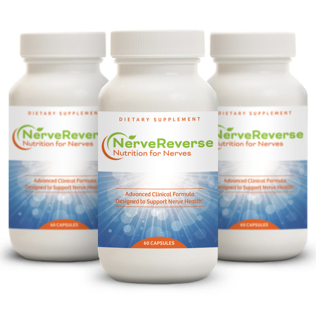 NerveReverse advanced clinical formula solution for peripheral neuropathy